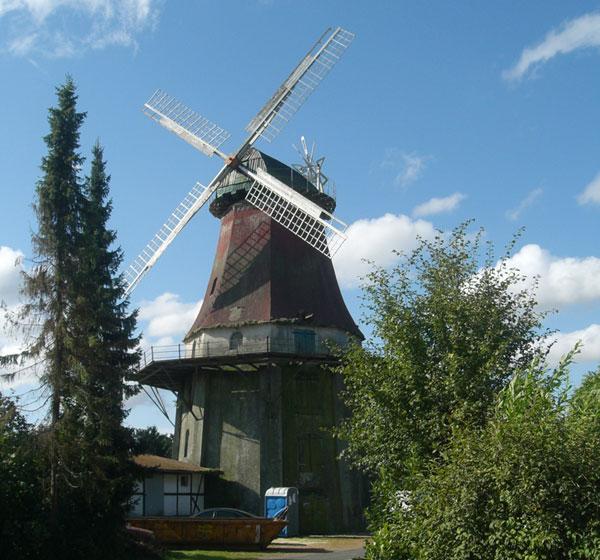 Die Emtinghauser Mühle vor der Renovierung.